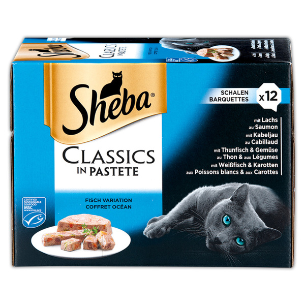 Sheba Classics in Pastete / Selection in Sauce