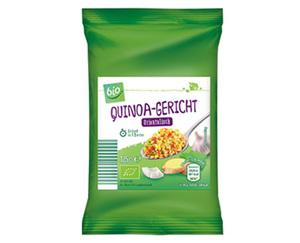 bio Vegetarisches Quinoa-Gericht