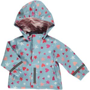 Mädchen Regenmatschjacke