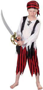 Kostüm - Piratenjunge - für Kinder - 3-teilig - verschiedene Größen