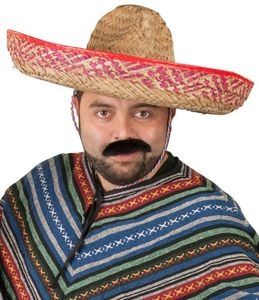Sombrero - aus Polyester - für Erwachsene