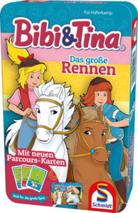 Bibi und Tina - Das große Rennen - Bring mich mit Spiel - Schmidt Spiele
