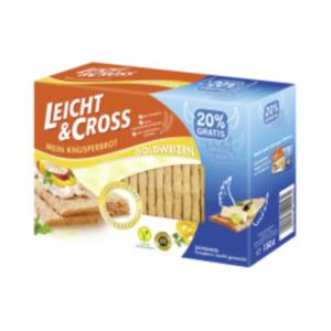 Leicht & Cross Knusperbrot Weizen oder Roggen
