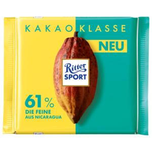 Ritter Sport Kakao Nicaragua 61% Fein 100g