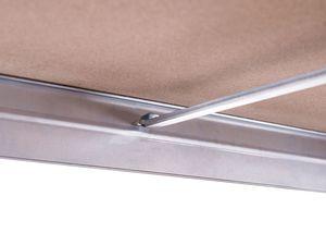 AR SHELVING Rivet Steckregal mit 5 Böden, 180x90x45, Verzinkt