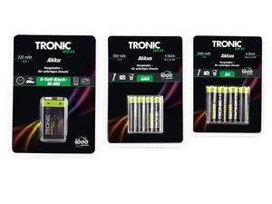 TRONIC® Ready to use NiMH-Akkus