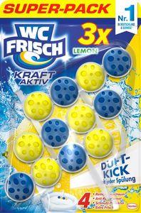 WC-Frisch Kraft Aktiv Lemon 3x50g