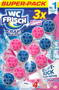 WC-Frisch Kraft Aktiv Blütenfrische 3x50g