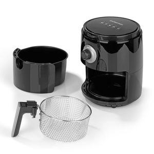 GOURMETmaxx Heißluft-Fritteuse 3l 1200W schwarz/grau