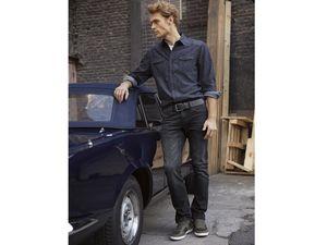 LIVERGY® Herren Jeans Straight-Fit
