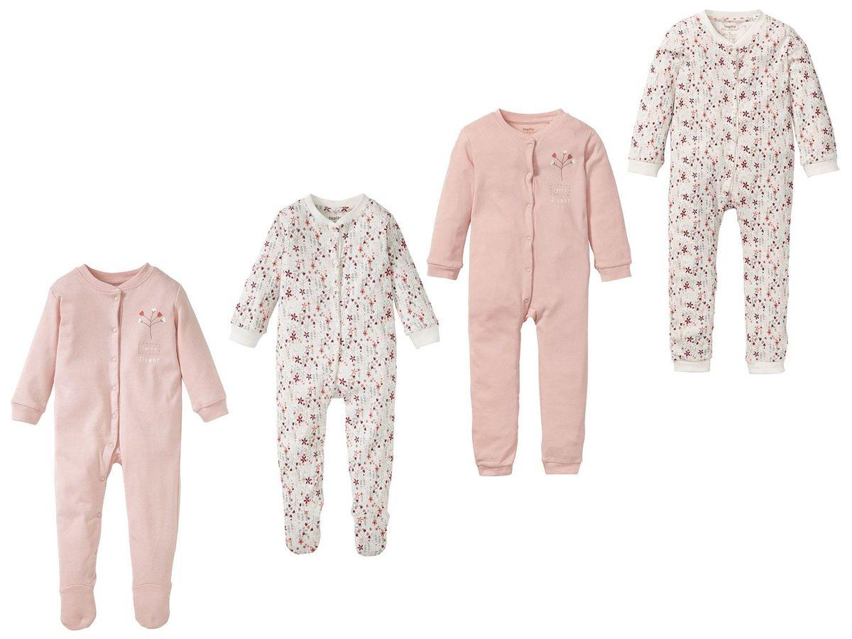 Bild 1 von LUPILU® PURE COLLECTION Baby Mädchen Schlafoverall