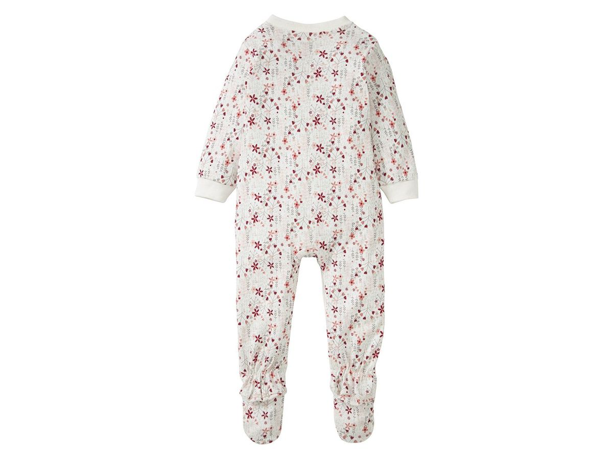 Bild 3 von LUPILU® PURE COLLECTION Baby Mädchen Schlafoverall