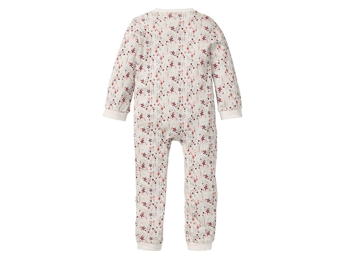 Bild 5 von LUPILU® PURE COLLECTION Baby Mädchen Schlafoverall