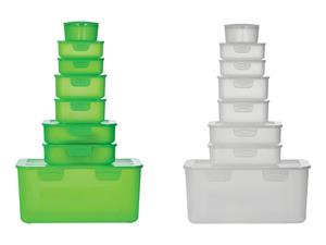 ERNESTO® Frischhaltedosenset, 8-teilig