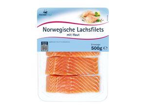 Norwegische Lachsfilets