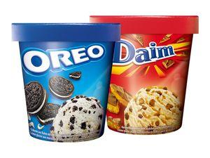 Oreo/Daim/Milka Eiscreme