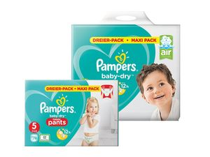 Pampers Baby-Dry Pants/Windeln