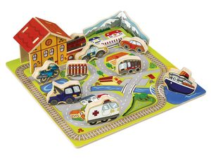 PLAYTIVE® JUNIOR Steckpuzzle