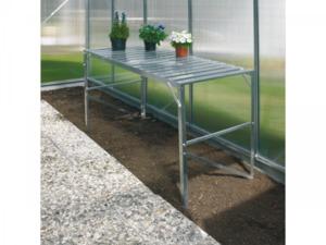 Vitavia              Aluminiumtisch + 1 Ablage für Gewächshaus