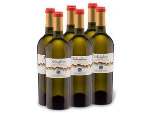 6 x 0,75-l-Flasche Weinpaket Sassi del Mare Campania IGP trocken, Weißwein