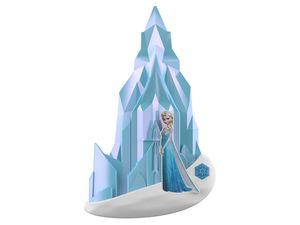 PHILIPS Wandleuchte Elsa mit Schloss, LED Wandleuchte Innen, Plastik
