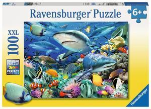 Ravensburger Puzzle Riff der Haie 100 Teile