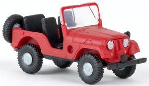 Brekina 58904 Jeep Universal rot