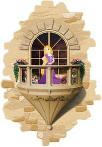 3D Licht - Balkon Rapunzel
