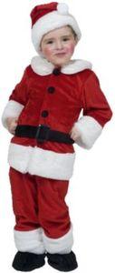 Kostüm Weihnachtsmann, 5-tlg. Gr. 86