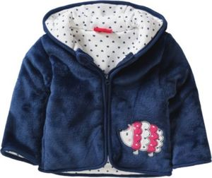 Baby Plüschjacke , Igel Gr. 74 Mädchen Baby