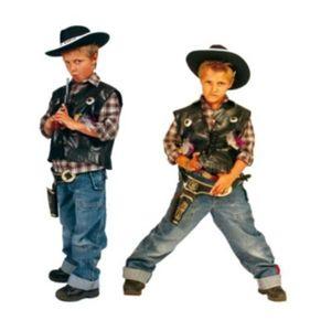 Kostüm Cowboyweste little Deputy Gr. 116