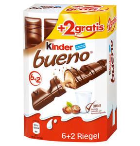 FERRERO             KINDER Bueno 6+2 gratis, 172g