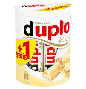 FERRERO             DUPLO White 10+1 gratis, 200g