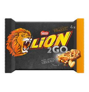 NESTLE             Lion 2go Peanut 4x33g