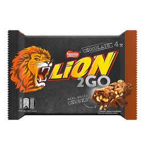 NESTLE             Lion 2go Chocolate 4x33g