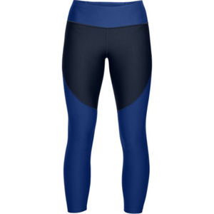 Under Armour Damen Fitnesstight Balance Crop, blau/schwarz, XS