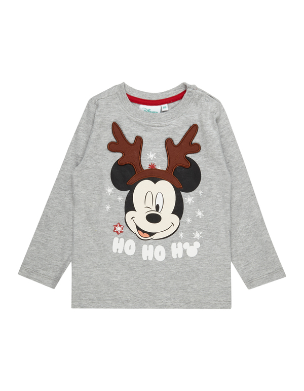 Baby Longsleeve mit Mickey Mouse-Print