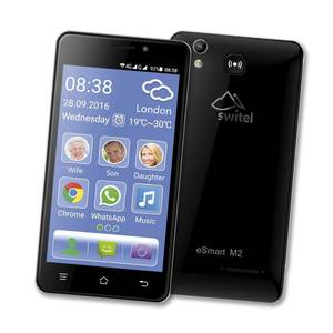 Smartphone eSmart M2 mit 4G, 5 qHD Display, 8 MP Kamera und Dual SIM Funktion Switel