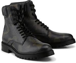 Camouflage-Stiefel von HUGO in grün für Herren. Gr. 46