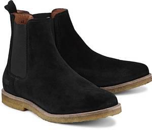 Chelsea-Boots von Shoot in schwarz für Herren. Gr. 41,42,43,44