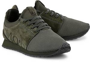 Freizeit-Sneaker von Marc O'Polo in khaki für Damen. Gr. 37,38,40