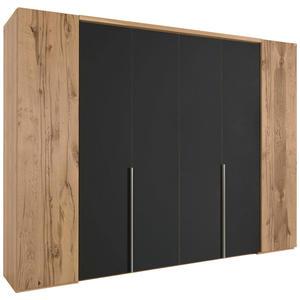 Voglauer FALTTÜRENSCHRANK 6-türig Eiche furniert, mehrschichtige Massivholzplatte (Tischlerplatte) Braun
