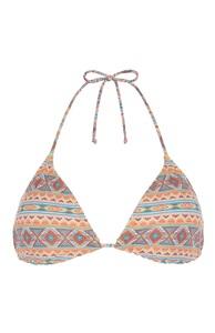 Bikinitop mit Aztekenmuster