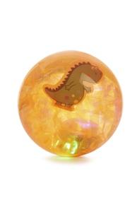 Orangefarbener LED-Flummi