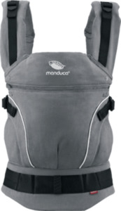 Manduca Babytrage First PureCotton, dark grey