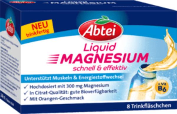 Abtei Magnesium Liquid Trinkampullen
