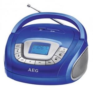 AEG Boombox SR 4373 Blau | B-Ware - der Artikel ist neu - Verpackungsschaden