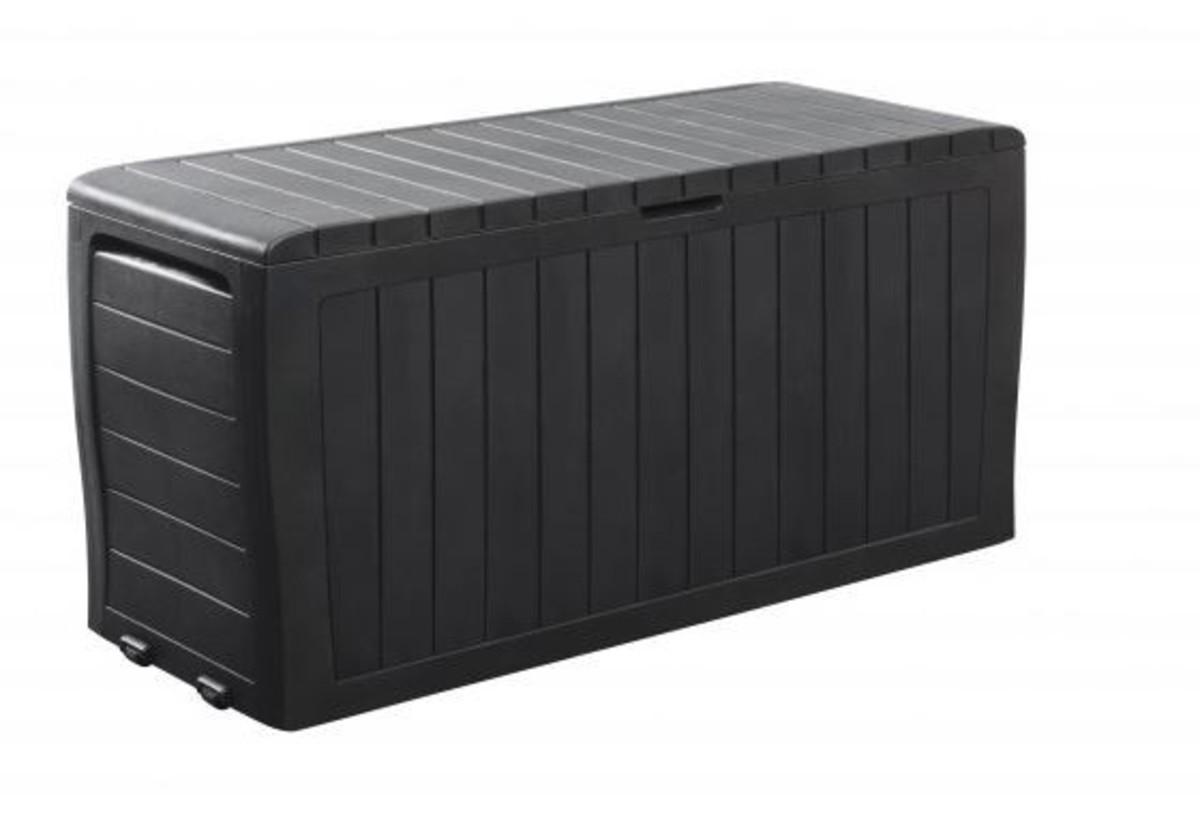 Bild 1 von Tepro Auflagenbox/Universalbox Marvel Plus ´´270 l, 116 x 44 x 57 cm, anthrazit ´´