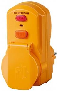Brennenstuhl Personenschutz-Adapter ´´BDI-A 2 30 IP54´´