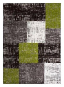 Andiamo Teppich Elne ´´schlamm grün, 67 x 140 cm´´